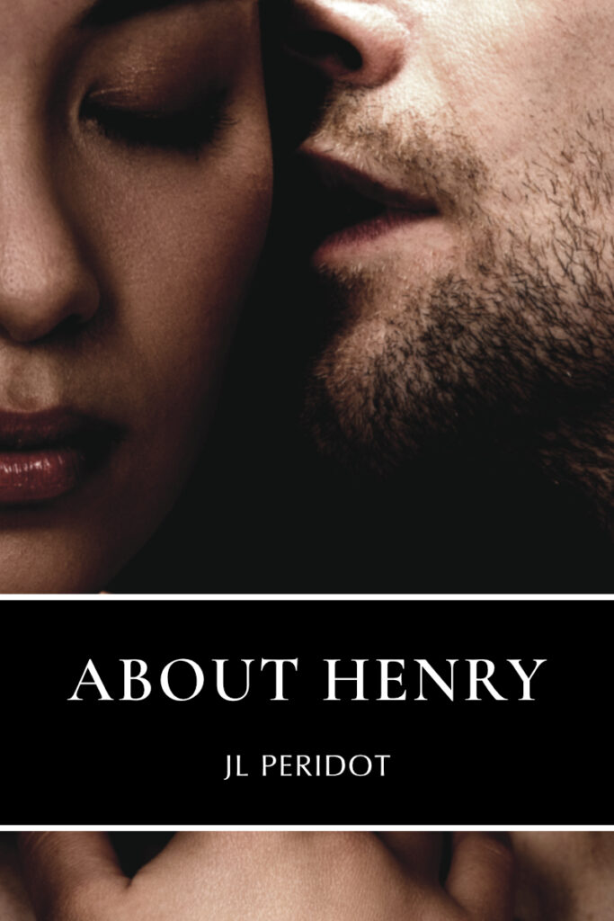 An Asian woman and white man on the cover of About Henry by JL Peridot